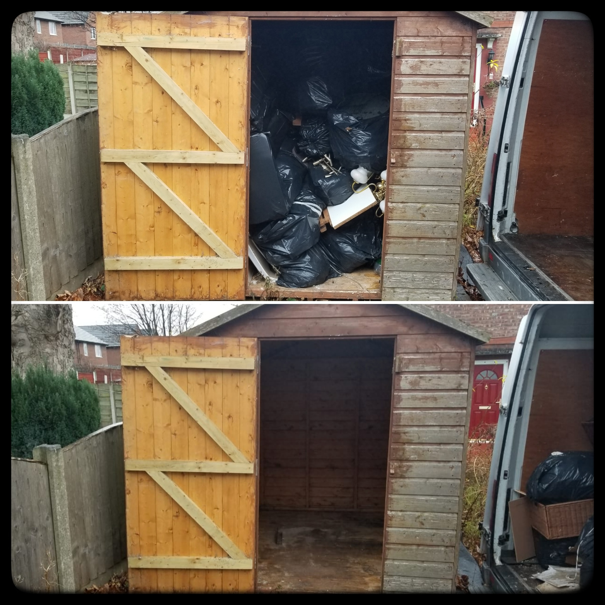 Shed Clearance in Salford M6