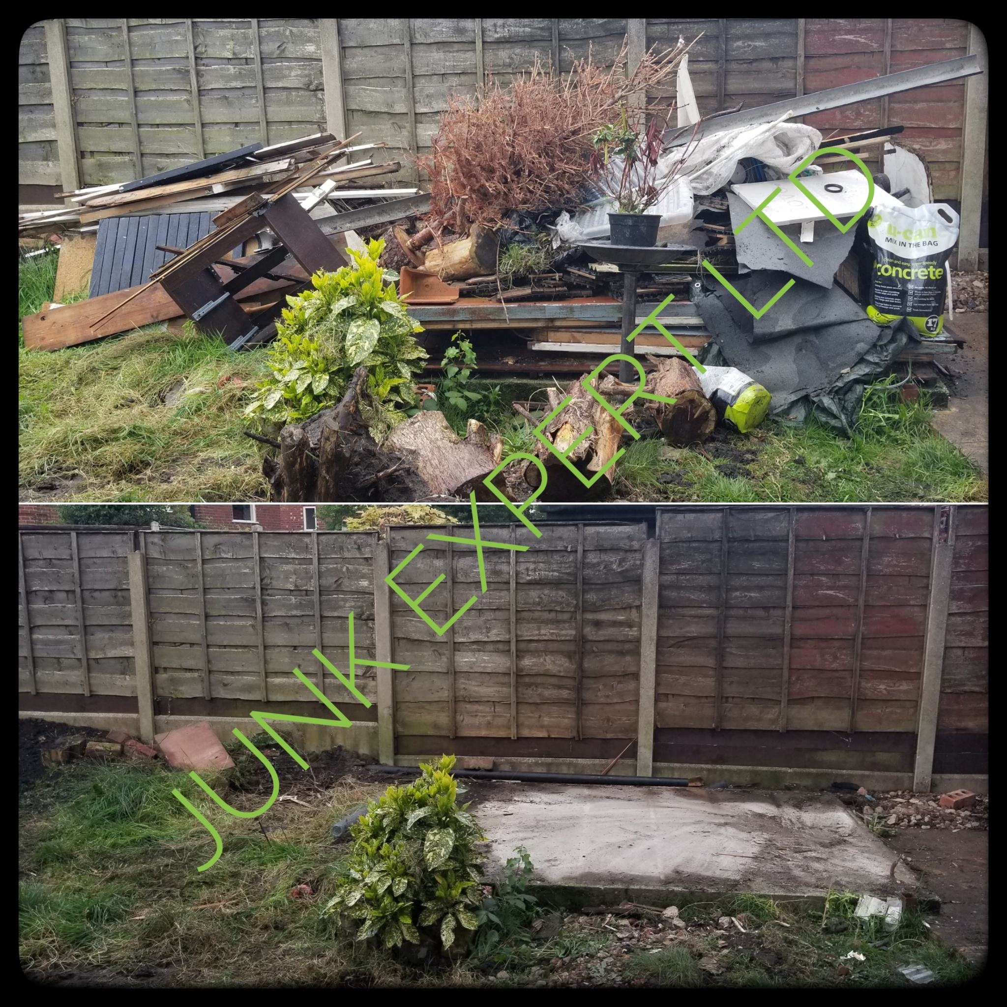 Garden Clearance and Shed Disposal in Offerton Stockport SK1.